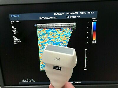 Philips L8-4 Linear Ultrasound Probe Transducer Excellent Image