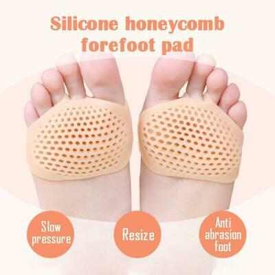 Silicone Honeycomb Forefoot Pad Foot Versatile Use Reusable Pain Relief