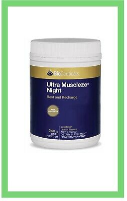 BioCeuticals Ultra Muscleze Night Magnesium  240G Free Delivery