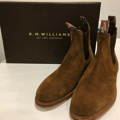 R.M. Williams Brown Suede Boots