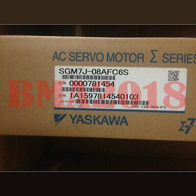1PC Brand New Yaskawa Servo Motors SGM7J-08AFC6S   One year warranty