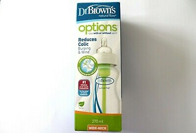 Dr Brown's Natural Flow Anti-Colic Vent System Wide-Neck - 270ml