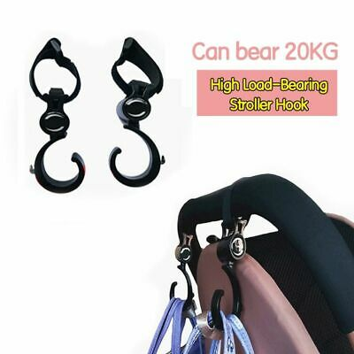 Baby Stroller Hook Multifunction High-Quality Plastic Accessories 2pcs