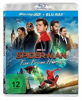 MARVEL SPIDER-MAN FAR FROM HOME 3D / 2D Blu-ray PREORDER Experienced US seller