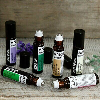 Aromatherapy Roll on Essential Oil Blends - Ancient Wisdom 10ml Conveniance pen.