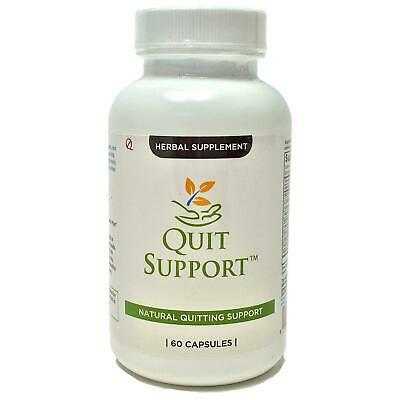 Quit Tea Support Natural Stop Smoking 60 Capsules Supplement