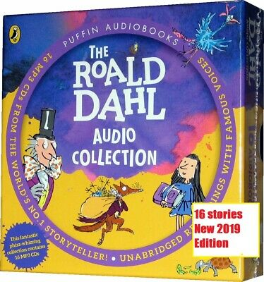 Roald Dahl  Audio Book Collection 16  Children's Stories  MP3 CDs Unabridged New