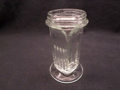 "AHT Glass 5-Slide Coplin Staining Jar (No Screw Cap) Fits 3""x1"" Chipped"