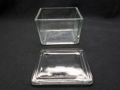 "WHEATON 20-Slide Glass Staining Dish and Cover 4"" L x 3 1/4"" W x 2 7/8"" H 900203"