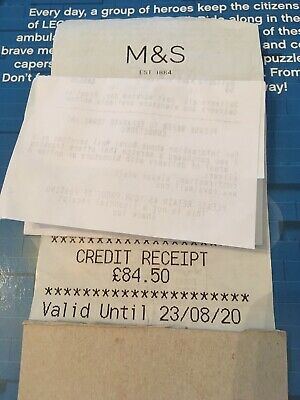 marks and spencer credit voucher £163.5