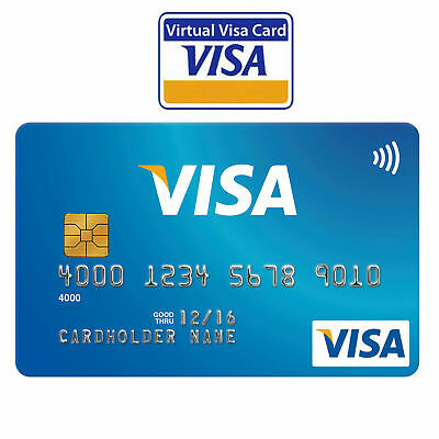 VCC Virtual Credit Card Worldwide Fast Delivery