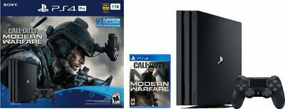 Sony PlayStation 4 Pro 1TB Call of Duty: Modern Warfare Console Bundle Pre-Order