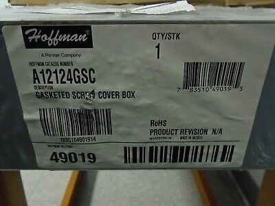 Hoffman Gasketed Screw Cover Box A12124GSC
