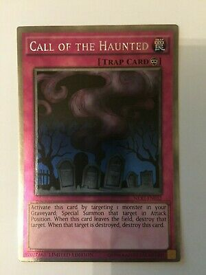 NKRT-EN032 Call of the Haunted Platinum Rare Limited Edition Yu-Gi-Oh