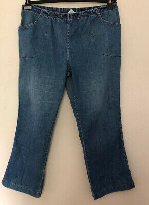 JMS Just My Size Bootleg Jeans Petite Size 3X (22WP/24WP) Pull On