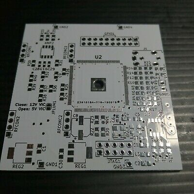 Commodore 64 Video Enhancement. RGB proyect empty Pcb.
