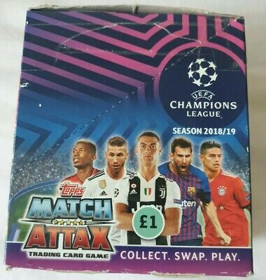 Topps Match Attax Champions League Cards  2018/19