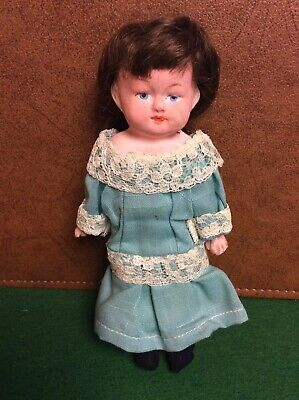 """Vintage Antique beautiful Small 7.5"""" German Doll"""