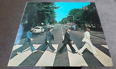 THE BEATLES  Abbey Road  Original UK LP 1969 3rd pres APPLE. STUNNING M-. tested