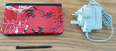 Nintendo 3DS XL Pokemon X and Y Red Handheld System Limited Edition