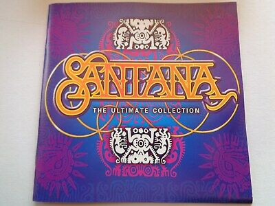 "Santana ""The Ultimate Collection"" 2 CDs Best of ... + Live Bonus CD Sony 2000"