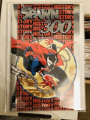 Image Comics Spawn #300 Silver Foil Edition NYCC 2019 Exclusive Ltd To 1500 NM