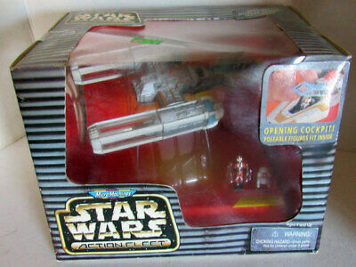 STAR WARS Micro Machines Action Fleet Y-WING STARFIGHTER - GALOOB 1996 New