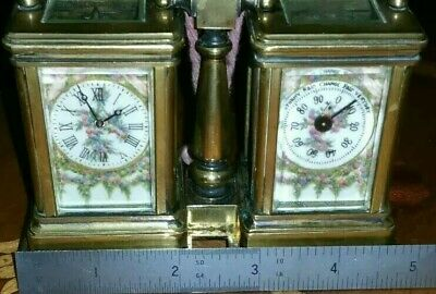 French Minture Carriage Clock & Barometer