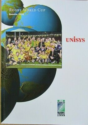 Rugby World Cup 1999 Results Report (a very detailed analysis)