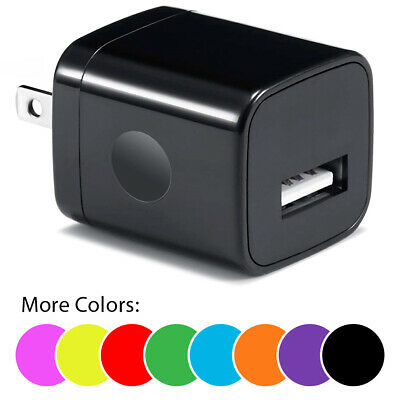 USB Wall Charger AC Power Adapter Plug Home Travel Charger FOR iPhone 6 7 8 X 11