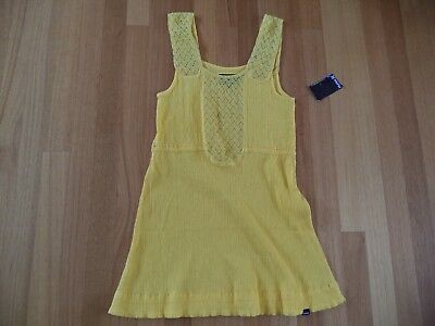 Hurley Womens Yellow Traveller  Dress Size S Brand New With Tags