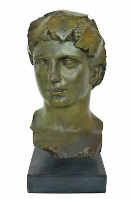 Dionysus Bronze bust - Dionysus Bacchus God of wine ritual madness and ecstasy