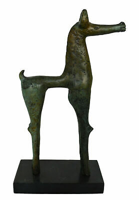 Olympia Bronze Horse sculpture statue - Ancient Greece - Museum replica