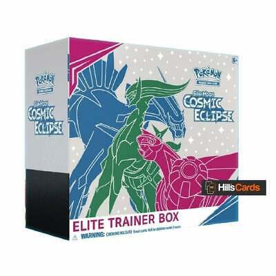 Pokemon TCG Sun & Moon Cosmic Eclipse Elite Trainer Box SM-12 Cards