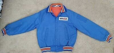 Vintage Original 1960s-70s Union 76 Racing Fuel Gas Station NASCAR SCCA Jacket