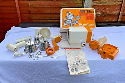 Vintage Moulinex Jeanette Mark 3 Electric Meat Grinder Salad Maker Fruit Juicer