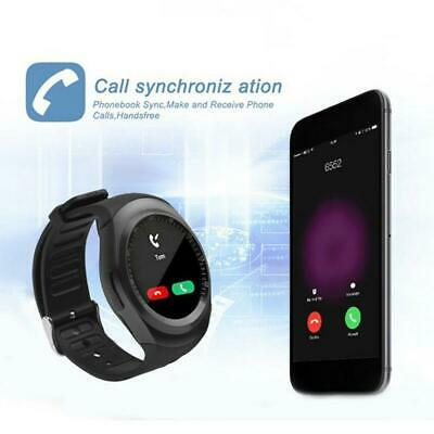 Waterproof Bluetooth Smart Watch Phone Mate For Android Y1 Samsung IOS LG i V0J6