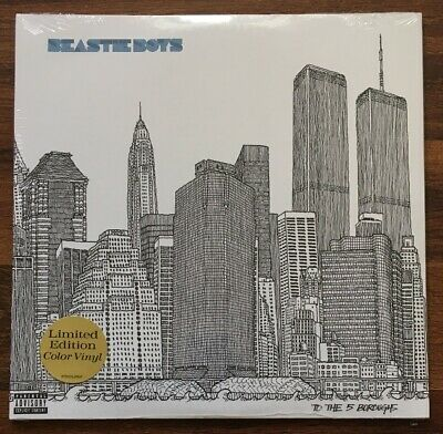 Beastie Boys - To The 5 Boroughs 2LP [Vinyl New] Limited Indie Exc Blue 180gm