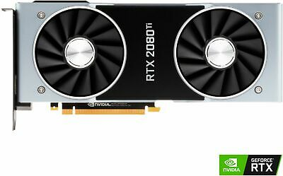 NVIDIA - GeForce RTX 2080 Ti Founders Edition 11GB GDDR6 PCI Express 3.0 Grap...