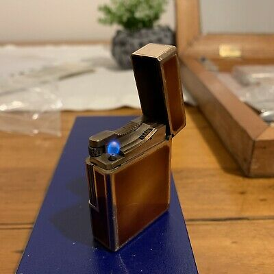 Accendino Dupont Lacca Cinese Funzionante. Chinese lacquer Dupont Lighter.