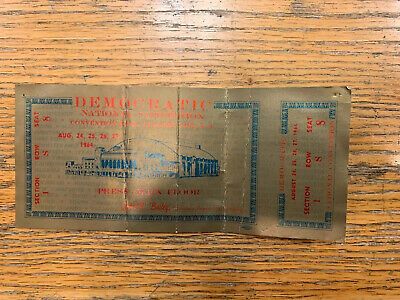 Democratic National Convention 1964 Ticket