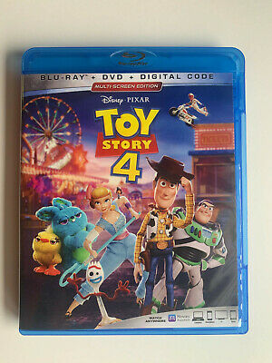 Toy Story 4 (BLU-RAY ONLY 2019) Hanks, Allen, and more Disney Pixar's