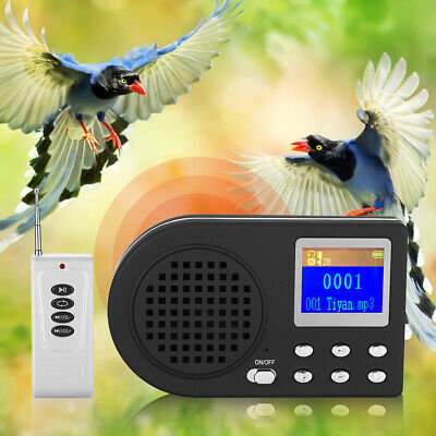 Outdoor Hunting Bird Caller Decoy Sound MP3 Player Molle with Remote Controller