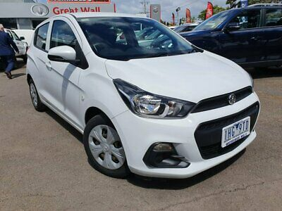 2016 Holden Spark MP LS White Automatic 1sp A Hatchback