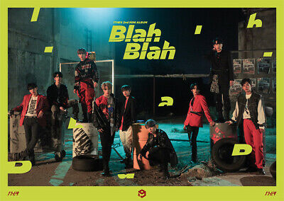 1THE9 - Blah Blah (2nd Mini) CD+Photobook+Mini Poster+Photocard+Postcard+Poster