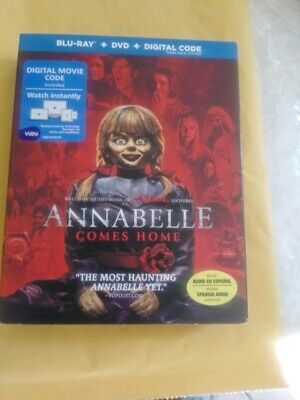 Annabelle Comes Home(Blu-Ray+Dvd) No Digital With Slipcover