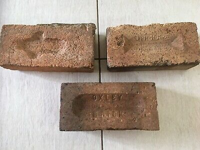 ~ 3 x Old Sandstock Bricks - Dinmore - Oxley - Convict/Early Era ~