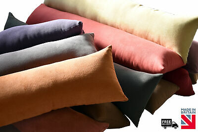 Draught Excluder in Herringbone Suede - 13 colours available!
