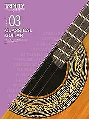 Trinity Classical Guitar Exam Pieces 2020-2023 Grade 3