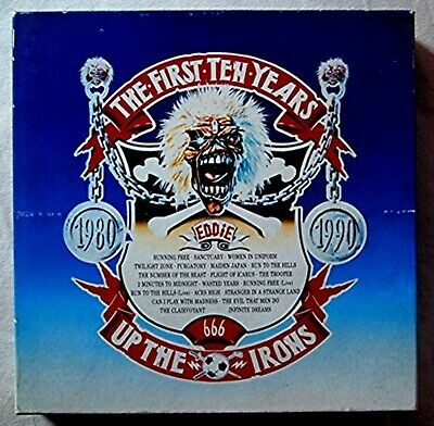 IRON MAIDEN The First Ten Years JAPAN 10 CD BOX SET USED